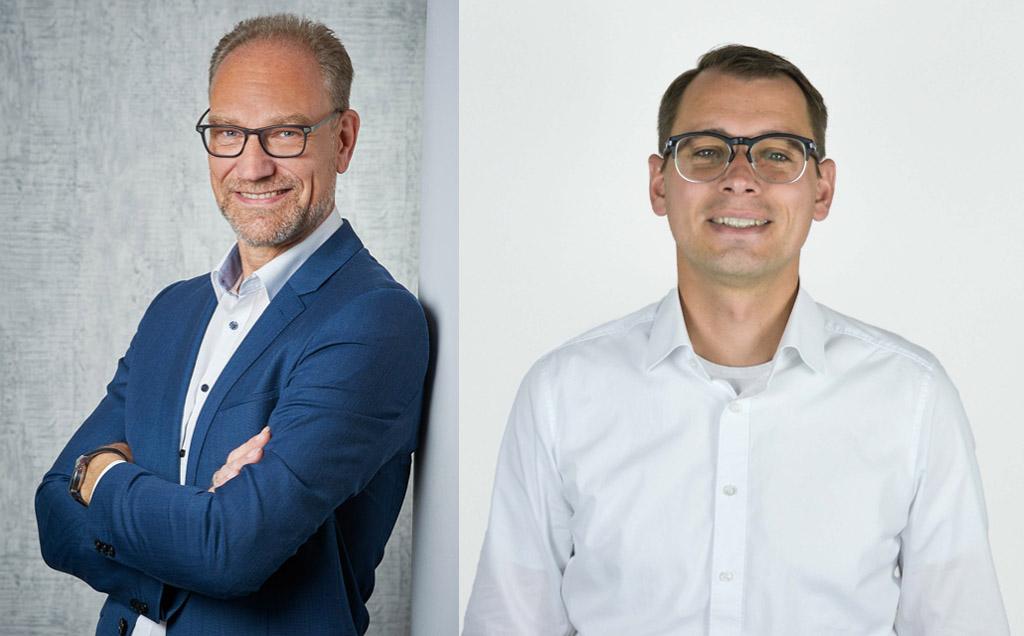 Andreas Pater und Markus Zuber