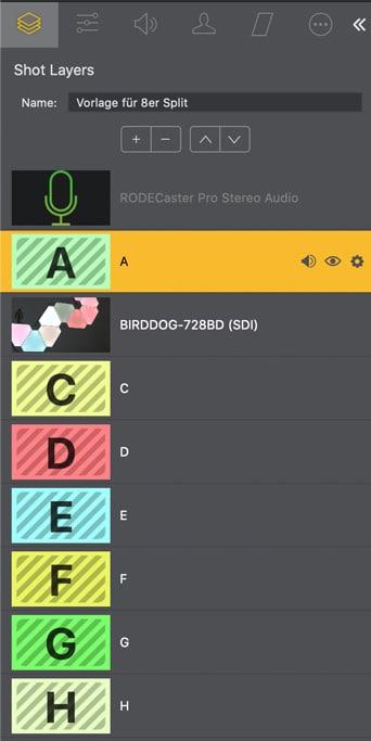 Shot Layers Wirecast Pro 14.2
