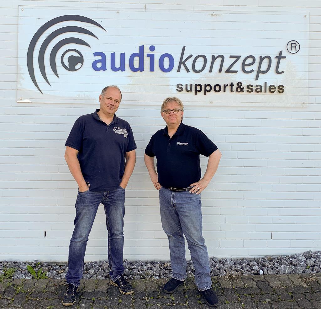 Matthias Meschkat (l.) und Jürgen Brüning