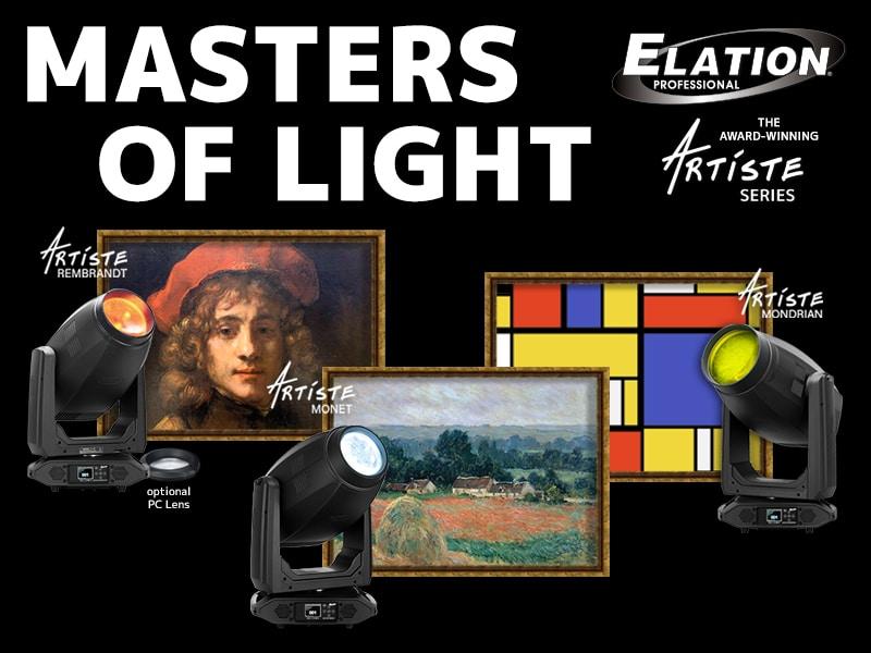 Masters of Light Elation Artiste Series