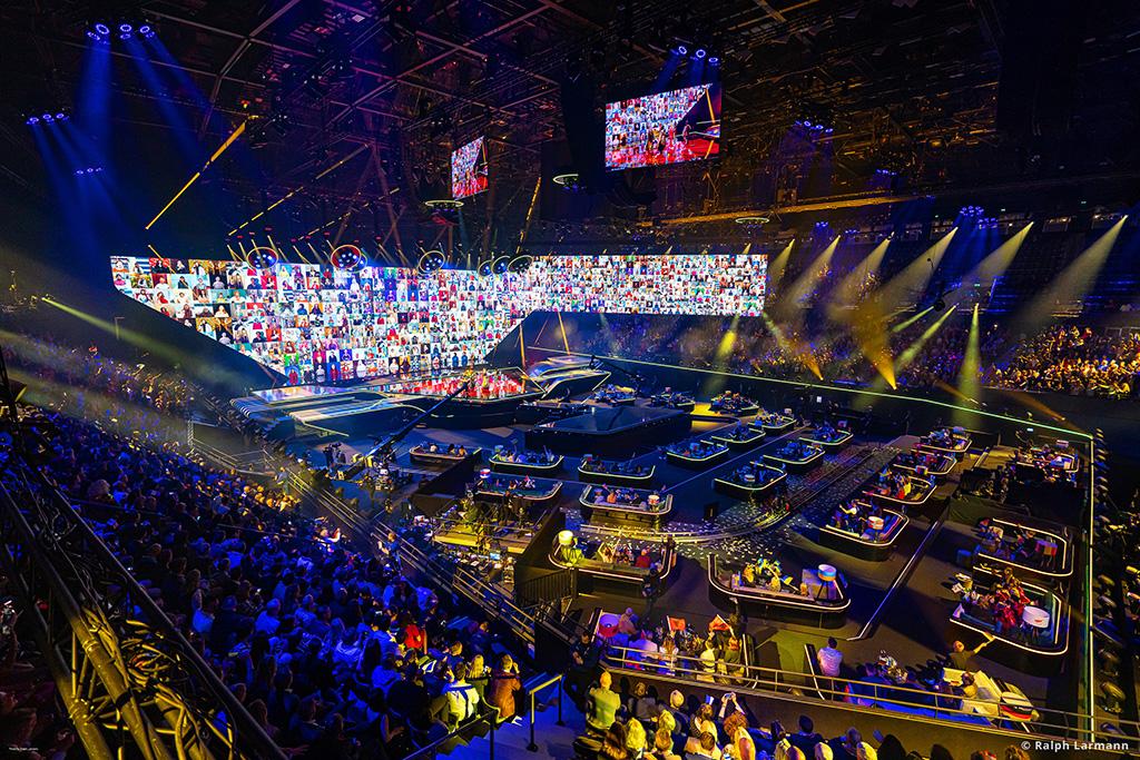 ESC 2021 Rotterdam Ahoy