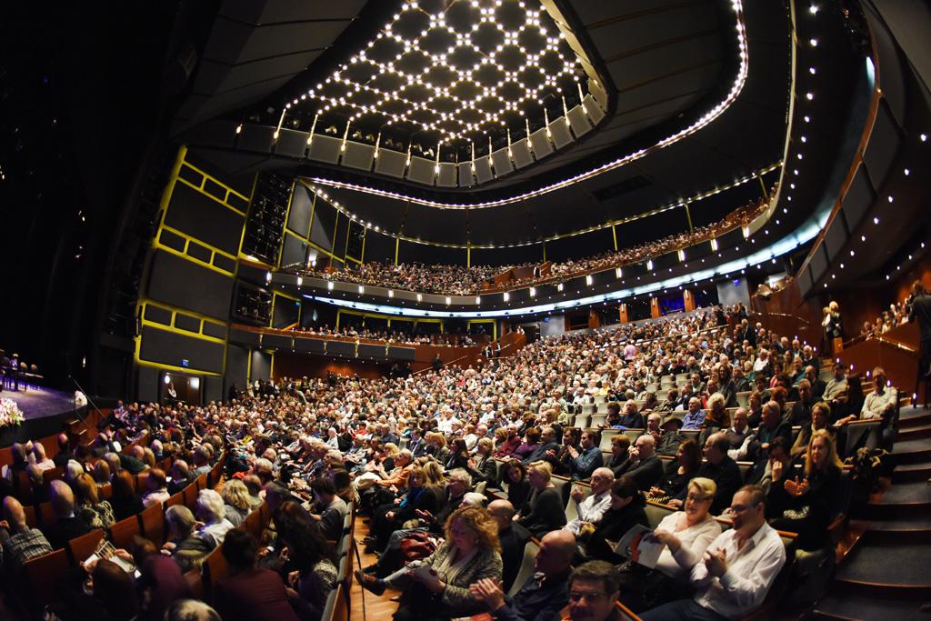 Blick in den Publikumsraum