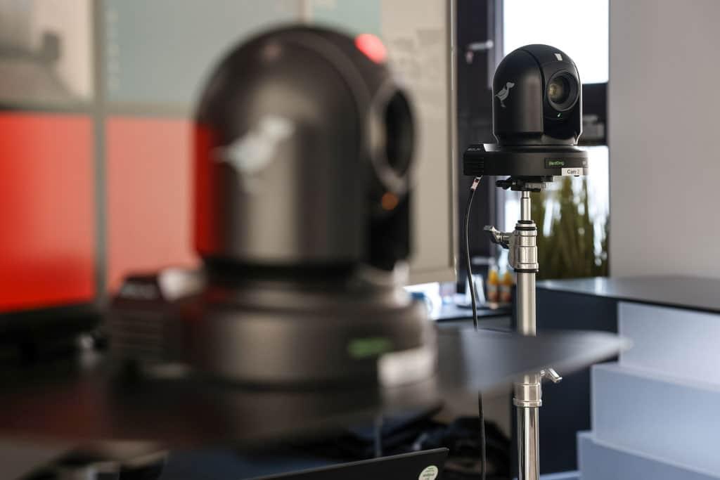 NDI PTZ-Kameras in Studioumgebung
