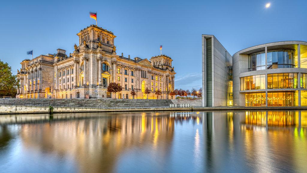 Bundestag morgens