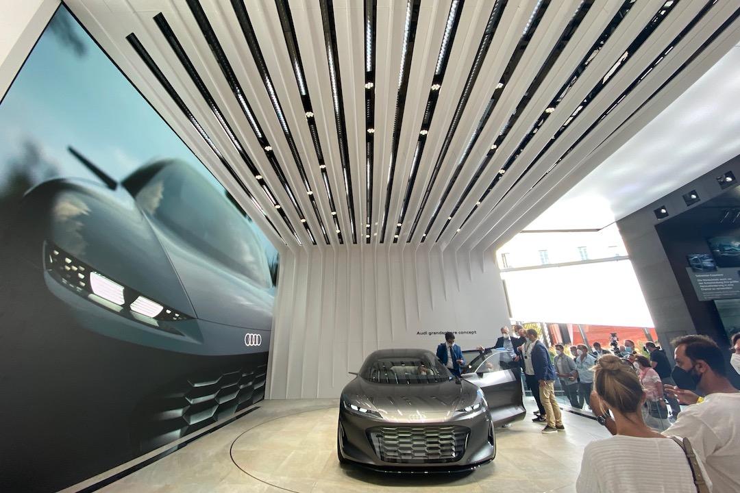 Audi-Messestand