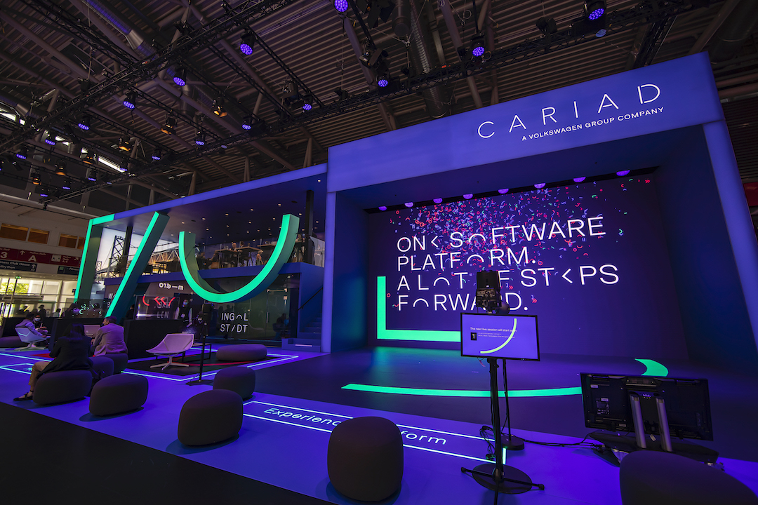 CARIAD-Messestand