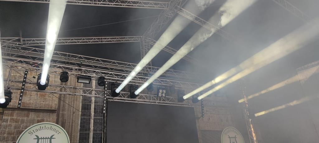 Elation Licht im Einsatz